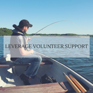 Donations to FishAmerica will leverage volunteer support